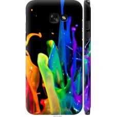 Чехол на Samsung Galaxy A7 (2017) брызги краски