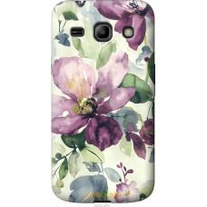 Чехол на Samsung Galaxy Star Advance G350E Акварель цветы