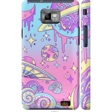 Чехол на Samsung Galaxy S2 Plus i9105 'Розовый космос