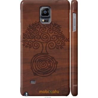Чехол на Samsung Galaxy Note 4 N910H Узор дерева