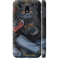 Чехол на Samsung Galaxy J3 (2017) gamer cat