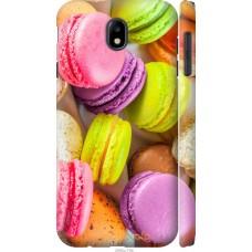 Чехол на Samsung Galaxy J7 J730 (2017) Вкусные макаруны