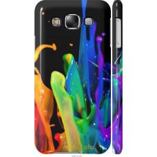 Чехол на Samsung Galaxy E5 E500H брызги краски