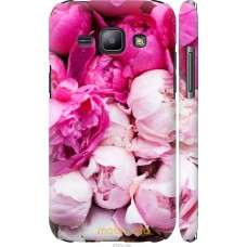 Чехол на Samsung Galaxy J1 J100H Розовые цветы