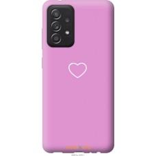 Чехол на Samsung Galaxy A52 Сердце 2
