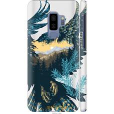 Чехол на Samsung Galaxy S9 Plus Арт-орел на фоне природы