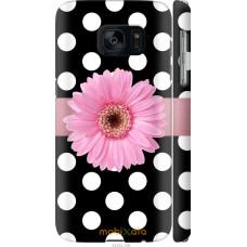Чехол на Samsung Galaxy S7 G930F Цветочек горошек v2
