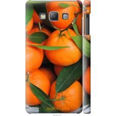 Чехол на Samsung Galaxy A7 A700H Мандарины
