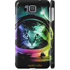 Чехол на Samsung Galaxy Alpha G850F Кот космонавт