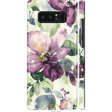 Чехол на Samsung Galaxy Note 8 Акварель цветы