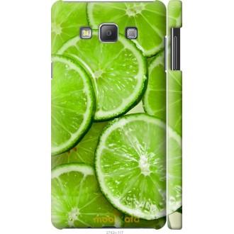 Чехол на Samsung Galaxy A7 A700H Лайм