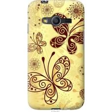 Чехол на Samsung Galaxy Ace 4 G313 Рисованные бабочки