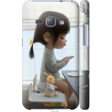 Чехол на Samsung Galaxy J1 (2016) Duos J120H Милая девочка с