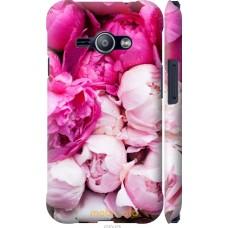 Чехол на Samsung Galaxy J1 Ace J110H Розовые цветы
