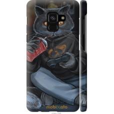 Чехол на Samsung Galaxy A8 2018 A530F gamer cat