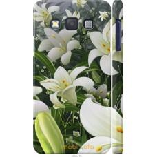 Чехол на Samsung Galaxy A3 A300H Лилии белые