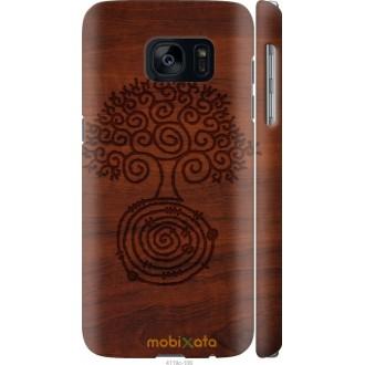 Чехол на Samsung Galaxy S7 G930F Узор дерева