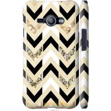 Чехол на Samsung Galaxy J1 Ace J110H Шеврон 10