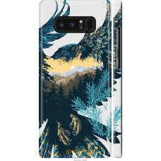 Чехол на Samsung Galaxy Note 8 Арт-орел на фоне природы