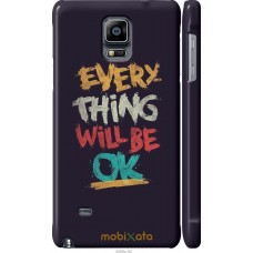 Чехол на Samsung Galaxy Note 4 N910H Everything will be Ok