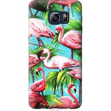 Чехол на Samsung Galaxy S6 Edge Plus G928 Tropical backgroun