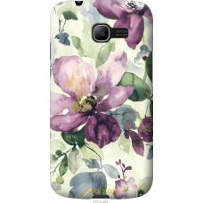 Чехол на Samsung Galaxy Star Plus S7262 Акварель цветы