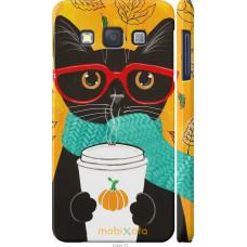 Чехол на Samsung Galaxy A3 A300H Осенний кот