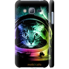 Чехол на Samsung Galaxy J3 Duos (2016) J320H Кот космонавт