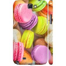 Чехол на Samsung Galaxy Note 2 N7100 Вкусные макаруны