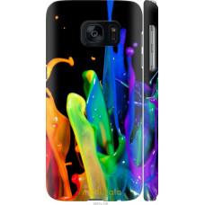 Чехол на Samsung Galaxy S7 G930F брызги краски
