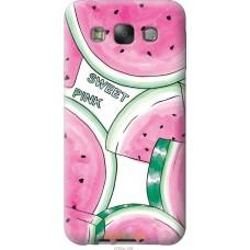 Чехол на Samsung Galaxy E7 E700H Розовый арбузик
