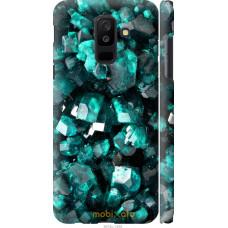 Чехол на Samsung Galaxy A6 Plus 2018 Кристаллы 2