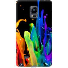 Чехол на Samsung Note Edge SM-N915 брызги краски