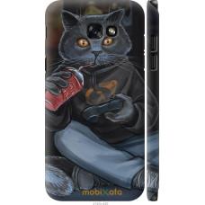 Чехол на Samsung Galaxy A7 (2017) gamer cat