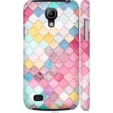 Чехол на Samsung Galaxy S4 mini Duos GT i9192 Красочная чере