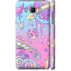 Чехол на Samsung Galaxy J7 (2016) J710F 'Розовый космос