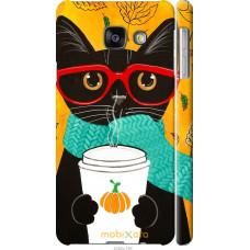 Чехол на Samsung Galaxy A3 (2016) A310F Осенний кот