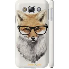 Чехол на Samsung Galaxy E5 E500H 'Ученый лис
