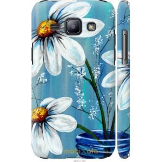 Чехол на Samsung Galaxy J1 J100H Красивые арт-ромашки