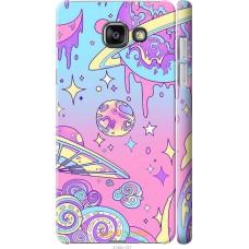 Чехол на Samsung Galaxy A7 (2016) A710F 'Розовый космос