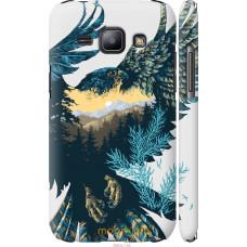 Чехол на Samsung Galaxy J1 J100H Арт-орел на фоне природы