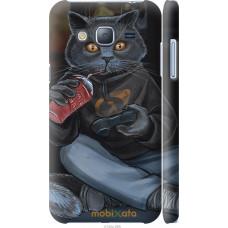 Чехол на Samsung Galaxy J3 Duos (2016) J320H gamer cat