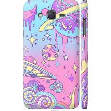 Чехол на Samsung Galaxy J7 J700H 'Розовый космос
