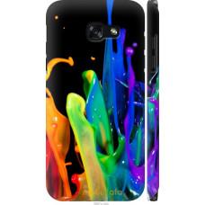 Чехол на Samsung Galaxy A5 (2017) брызги краски