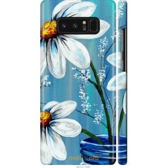 Чехол на Samsung Galaxy Note 8 Красивые арт-ромашки