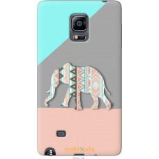 Чехол на Samsung Note Edge SM-N915 Узорчатый слон