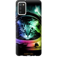 Чехол на Samsung Galaxy A02s A025F Кот-астронавт