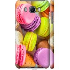 Чехол на Samsung Galaxy J7 (2016) J710F Вкусные макаруны