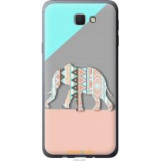 Чехол на Samsung Galaxy J5 Prime Узорчатый слон