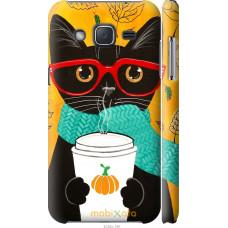 Чехол на Samsung Galaxy J2 J200H Осенний кот